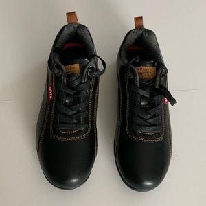 Levi's Men's Ethan?Sneakers Leather Casual Deck